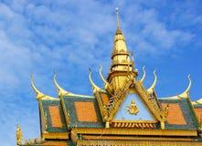 Wat Leu. Amazing view of Wat Leu in Sihanoukville, Cambodia Stock Photography