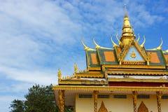 Wat Leu. Amazing view of Wat Leu in Sihanoukville, Cambodia Royalty Free Stock Photo
