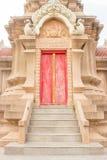Wat Liap Nakhon Ratchasima Thailand Royaltyfri Bild