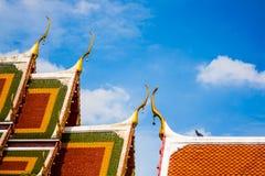 Wat Liap tempel av Thailand Royaltyfria Foton