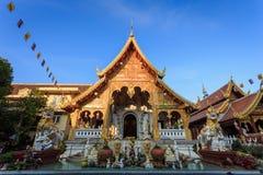 Wat Loi Kroh, Temple in Chiang Mai Stock Photos