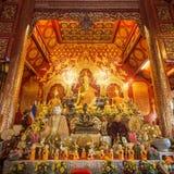 Wat Loi Kroh, Temple in Chiang Mai Stock Image