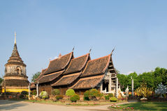 Wat Lok Malee in Chiang Mai, Thailand Royalty Free Stock Photos