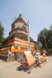 Wat-lok molee, alter Tempel in Chiang- Maistadt lizenzfreie stockbilder
