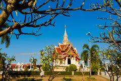 Wat Lok Molee buddistisk tempel royaltyfria foton