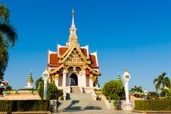 Wat Lok Molee buddistisk tempel arkivfoto