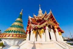 Wat Lok Molee buddistisk tempel arkivbilder