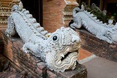 Wat Lok Molee buddistisk tempel royaltyfri foto