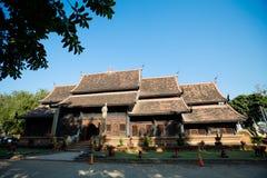 Wat Lok Molee buddistisk tempel royaltyfri fotografi