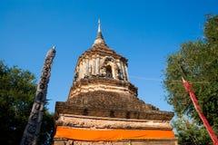 Wat Lok Molee buddistisk tempel royaltyfria bilder