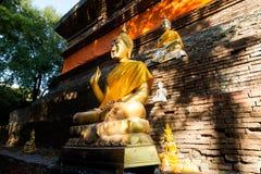 Wat Lok Molee buddistisk tempel fotografering för bildbyråer
