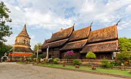 Wat Lok Molee Chiang Mai royaltyfria foton