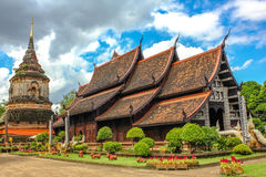 Wat Lok Molee in Chiang Mai Royalty Free Stock Images