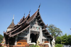 Wat Lok Molee, Chiang MAI, Thailand Royalty-vrije Stock Foto