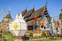 Wat Lok Molee Chiangmai, Thailand royaltyfria bilder