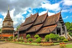 Wat Lok Molee i Chiang Mai royaltyfria bilder