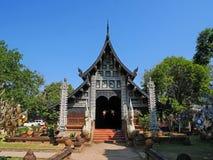Wat Lok Molee tempel, Chiang Mai, Thailand fotografering för bildbyråer