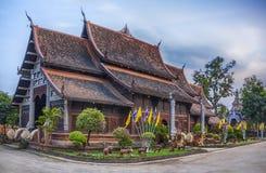 Wat Lok Molee tempel i Chiang Mai Arkivbilder