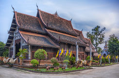 Wat Lok Molee temple in Chiang Mai. Wat Lok Moli  sometimes also seen written as Wat Lok Molee is a Buddhist temple in Chiang Mai, northern Thailand. The temple Stock Images