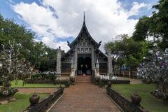 Wat Lok Moli är en buddistisk tempel i Chiang Mai, Thailand royaltyfri foto