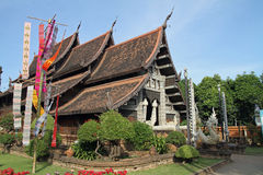 Wat Lok Moli in Chiang Mai Royalty Free Stock Photography