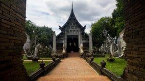 Wat Lok Moli Chiang Mai, Thailand fotografering för bildbyråer