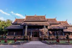 Wat Lok Moli den historiska buddistiska templet fotografering för bildbyråer