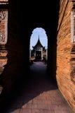 Wat Lok Moli den historiska buddistiska templet arkivbilder