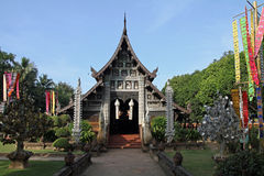Wat Lok Moli en Chiang Mai imagen de archivo libre de regalías