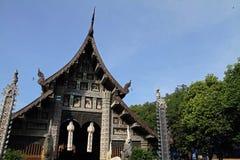 Wat Lok Moli i Chiang Mai arkivfoto