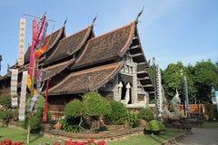 Wat Lok Moli i Chiang Mai royaltyfri fotografi