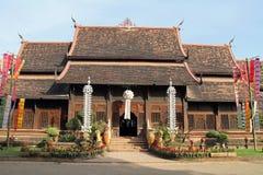 Wat Lok Moli i Chiang Mai royaltyfri bild