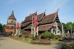 Wat Lok Moli i Chiang Mai fotografering för bildbyråer