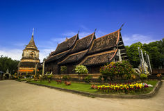 Wat Lok Moli tempel royaltyfria foton