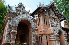 Wat Lok Moli tempel i Thailand Royaltyfri Foto