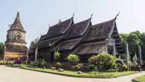 Wat Lok Moli Temple royaltyfria bilder
