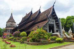 Wat lok moli temple in Chiang Mai, Thailand. Royalty Free Stock Image