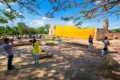 Wat Lokaya Sutha à Ayutthaya Images stock