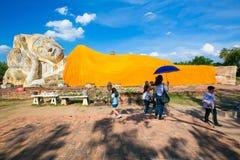 Wat Lokaya Sutha à Ayutthaya Photo libre de droits