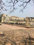 Wat Lokayasutharam & x28; Ayutthaya& x29; foto de stock