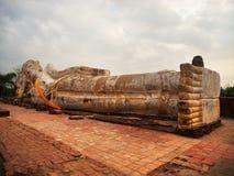 Wat Lokayasutharam, Ayutthaya fotos de archivo