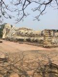 Wat Lokayasutharam & x28; Ayutthaya& x29; stock foto