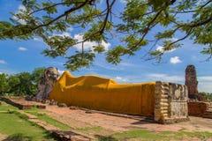 Wat Lokkayasutharam Stock Afbeelding
