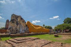 Wat Lokkayasutharam imagenes de archivo