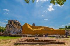 Wat Lokkayasutharam imagen de archivo