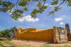 Wat Lokkayasutharam Royalty-vrije Stock Fotografie