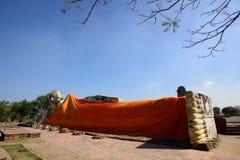 Wat Lokkayasutharam, Ayutthaya Lizenzfreie Stockfotografie