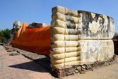 Wat Lokkayasutharam, Ayutthaya Stockfotografie