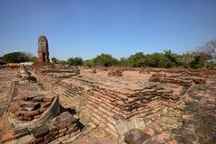 Wat Lokkayasutharam, Ayutthaya Стоковые Изображения RF