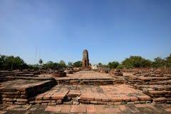Wat Lokkayasutharam, Ayutthaya Stockfoto